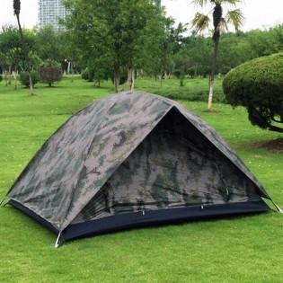 Taktinen kahden hengen teltta tuplaovilla