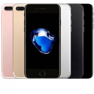 """Apple iPhone 7 Plus 5.5"""" tehdashuollettu puhelin - 128GB, Peilimusta"""