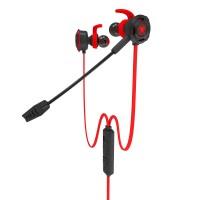 Kätevät kuulokkeet on-the-go pelaamiseen. Näissä nappikuulokkeissa on samankaltainen mikrofoni kuin isommissakin pelikuulokkeissa. Mukana on myös 3.5mm haaroitin tietokoneita varten.