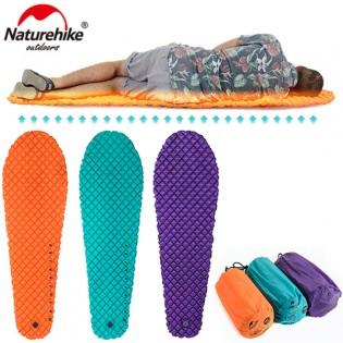 NatureHike Mummy kevyt täytettävä makuualusta - Oranssi