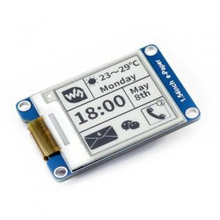 Raspberry Pi / Arduino e-ink mustavalkonäyttö 1.54