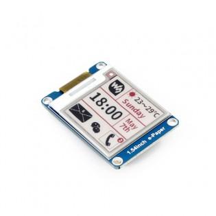 Raspberry Pi / Arduino e-ink puna/musta/valkoinen värinäyttö 1.54