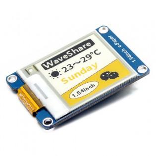 Raspberry Pi / Arduino e-ink kelta/musta/valkoinen värinäyttö 1.54