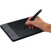 Huion 420 on pienikokoinen ja helppokäyttöinen piirtopöytä tietokoneelle. Wacomia huomattavasti halvempi Huion-piirtopöytä ei silti tingi ominaisuuksista.