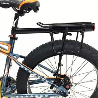 X-TREME Pakethållare med reflex till fatbike