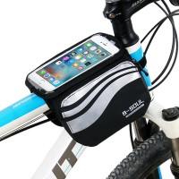 Pyöräiletkö paljon ja tarvitset mahdollisesti älypuhelintasi matkalla? Tämä pyörälaukku mahdollistaa älypuhelimen käytön samalla, kun fillaroit ympäriinsä. Aseta maks. 5.
