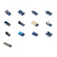 Monipuolinen 13 sensorin paketti mihin tahansa rakennusprojektiin, esimerkiksi kotitekoisten robottien rakentamiseen! Jokainen elektroniikan rakentelusta kiinnostunut löytää tästä sarjasta jotain hyödyllistä.