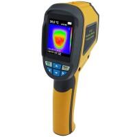 LCD-näytöllä varustettu laadukas lämpökamera – vihdoinkin kohtuuhintaan! Tällä laitteella hoidat niin pistelämpötilan mittaukset kuin lämpökartoituksenkin.