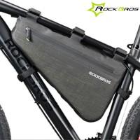 Erittäin hyvännäköinen, käytännöllinen ja vedenkestävä pyörälaukku pyörän runkoon. Voit valita kahden väliltä, kumpi sopii pyörääsi - 5- vai 8 -litrainen laukku. Katso mitat kuvista.
