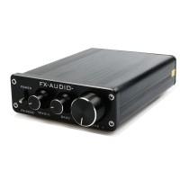 FX502E on hintaluokassaan äänenlaadullisesti erinomainen esivahvistin. Vahvistimessa on stereoulostulo RCA-liitinten kautta. Tehoja tästä vahvarista löytyy mukavat 68W per kanava 4 ohmin käytössä tai 50W per kanava 8 ohmissa.