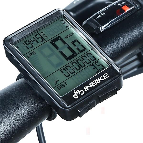 """Cykeldator trådlös INBIKE 2.1"""" LED skärm"""
