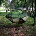 Hengekøye med myggnett og regntrekk