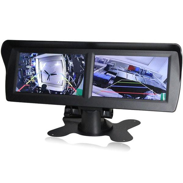 """2 x 4,3"""" LCD Display för bilen"""