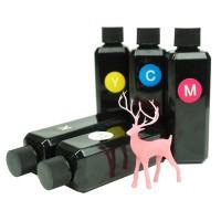 MicroMake UV-hartsi, joka on värjätty. Värihartsi on tarkoitettu sekoitettavaksi läpinäkyvän keltaisen hartsin joukkoon värjäten sen tehokkaasti. Värihartseja voi myös sekoitella keskenään uusien värisävyjen luomiseksi.