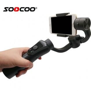 SOOCOO 3-akselinen gimbaali älypuhelimille / action-kameroille