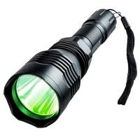 Cree vihreävalolamppu on tärkeä varuste haavoittuneen eläimen etsimisessä. Liitä Cree valaisin aseeseen. Tehokas valo, pitkä akunkesto.