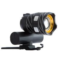 Tehokas LED -pyörän valo zoomilla. 300lm valoteho & 3 valotilaa. Alumiininen pyörävalo käy vaikka fatbikeen. Pyörän valo on MicroUSB-ladattava. Katso kuvat!