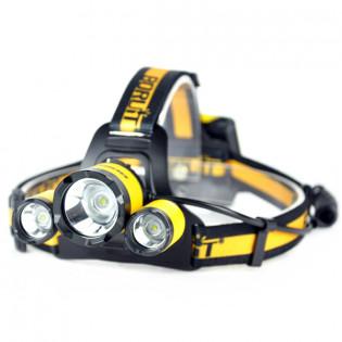 Boruit B17 3XCREE LED -otsalamppu 500lm