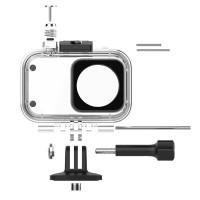 Tällä vedenkestävällä kotelolla suojaat Xiaomi Mijia 4K-actionkameraasi jopa 45 metrin syvyyteen asti. Kotelossa oleva painike pitää ohjauksen sinulla.