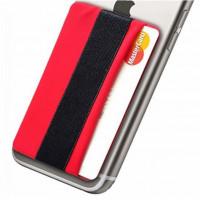 Erittäin kätevä puhelinpidike liimakiinnityksellä minkä tahansa puhelimen takakanteen tai suojakoteloon kiinnitettäväksi. Mukana myös korttipaikka.