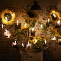 LED-valo klipsit -valosarjalla saat koristelua seinäsi näyttäväksi. Ripusta klipseihin kuvia tai mitä ikinä keksitkin, vain luovuutesi asettaa rajat.
