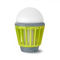 Langaton hyttysansa LED-lamppu on yksi parhaita 2-in-1 -varusteita retkelle, sillä hyttysansan lisäksi siinä on kirkas valo 3 eri valoteholla. Sen voi ripustaa ympäristöä valaisemaan ja nitistämään inisijöitä tai käyttää taskulamppuna! Suositus: Ripusta teltan kattoon valoksi ja jätä yöksi tappaamaan hyttyset.