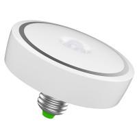 Kirkas LED-lamppu liiketunnistimella on juuri sitä, mitä nimi lupaa. E27-kantainen LED-lamppu on energiatehokas, sillä se myö syttyy ainoastaan hämärässä.
