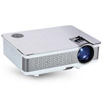 LED-projektori tarkalla natiivilla FullHD-resoluutiolla, kirkkaalla 350 ANSI-lumen lampulla ja Keystone -korjauksella. Hyvät liitännät & paras hinta-laatusuhde!