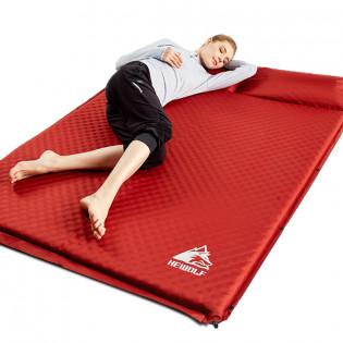 HEWOLF ilmatäytteinen makuualusta kahdelle - Punainen