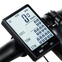 """Polkupyörän langaton mittari varustettuna nopeusmittarilla & muilla monipuolisilla ominaisuuksilla. Ei johtoja, ei säätöä. 2.8"""" takavalaistu näyttö on tyylikäs!"""