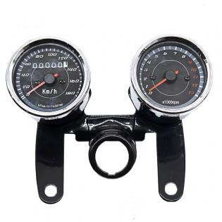 Moottoripyörän mittaristo