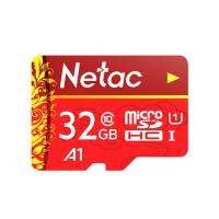 Netac MicroSD muistikortti isolla 32 GB tallennuskapasiteetilla puhelimeen, kameraan tai miksei vaikka droneen eli kuvauskopteriin. Netac on laadun tae.