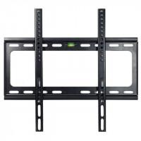 TV-telineestä ei tarvitse maksaa maltaita. Tällä VESA-standardin mukaisesti valmistetulla telineellä kiinnität töllön kätevästi seinälle.