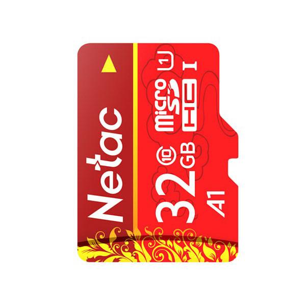 Netac Micro SDHC 32GB muistikortti Class 10