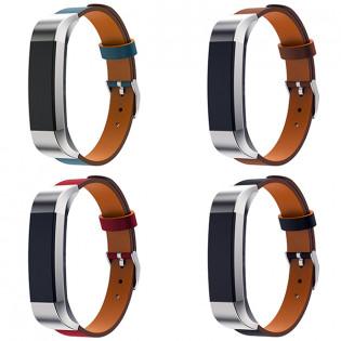 Fitbit Alta / Alta HR nahkaranneke - Musta