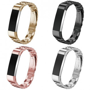 Fitbit Alta / Alta HR metalliranneke - Hopea