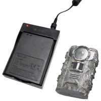 OWLZER Z1-åtelkamera drivs av ett 2200 mAh-batteri som enkelt kan laddas hemma med denna laddaren.