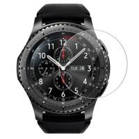 Samsung Gear S3 -älykellon näyttösuoja pitää kellosi ehjänä rankemmassakin menossa. Pakkaus sisältää 2kpl karkaistua lasisuojaa. Halpa vakuutus kellon näytölle!