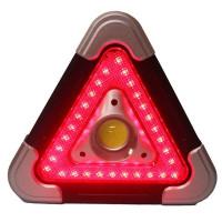 Työvalon ja varoitusvalon yhdistelmä on hyvä hätäapu mukana autossa tai työmaalla. Kahdella eri kirkkaudella palava työvalo sekä kolmen toiminnon varoitusvalo.