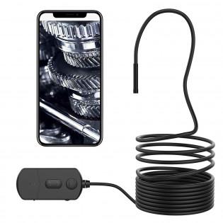 Android/iOS WiFi-endoskooppi zoomilla 3,5/5m - 5m