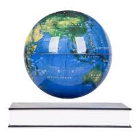 Leijuva maapallo on äärettömän tyylikäs koriste. Maapallo leijuu taianomaisesti magneettien avulla! Hämärässä vielä näyttävämpi, kun sen sisältä hehkuu valo!
