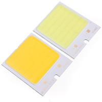 Alumiinilevyyn kiinnitetyt ja epoksilla suojatut COB-LEDit ovat oivallinen tarvike tee-se-itse-askartelijalle.