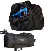 """Pyöränkuljetuslaukku 14-20"""" taittopyörille. Tässä laukussa kuljetat pyöräsi mihin tahansa. ROSWHEEL valmistaa laadukkaita pyöräilytarvikkeita ja tässä on yksi."""