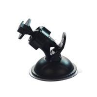 SJCAM A10 on periaatteessa haalarikamera (bodycam) mutta siinä on myös erillinen autokameramoodi. Tällä telineellä saat kameran kiinnitettyä tuulilasiin.