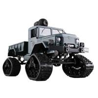 Radio-ohjattava armeijan rekka renkailla tai telaketjuilla sekä itsenäinen jousitus takaavat nautinnollisen off-road -ajokokemuksen, jonka voit ottaa kameralle.