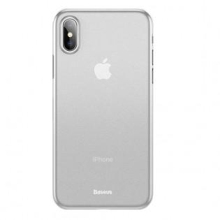 Baseus ohut iPhone XR suojakuori 0,45mm - Täysin musta