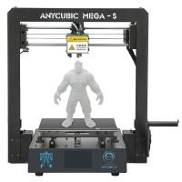 Anycubic I3 Mega S är en uppdaterad version av den populära 3D-skrivaren Anycubic I3 MEGA. Uppdaterat munstycke och mer pålitlig extruder.