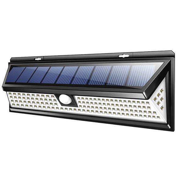 Solaris Beacon fasadbelysning med rörelsevakt 90LED