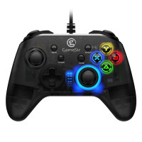 GameSir T4w on laadukas PC-pelaamiseen tarkoitettu langallinen peliohjain. Ohjain on varsin näyttävän osittain läpinäkyvän ja LED-valaistun ulkoasunsa lisäksi erittäin mukava käyttää.