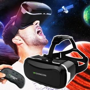 SHINECON 2.0 3D Virtuaalilasit & BT-ohjain 4.7-6